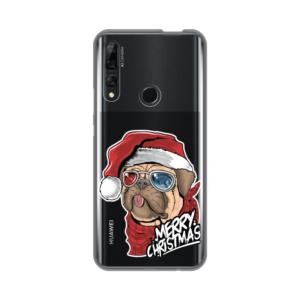 Maska Silikonska Print Skin za Huawei P smart Z Christmas Pug