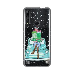 Maska Silikonska Print Skin za Huawei P smart Z Christmas Ride