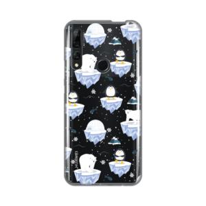 Maska Silikonska Print Skin za Huawei P smart Z Winter Magic