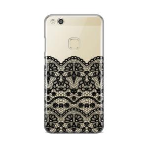 Maska Silikonska Print Skin Za Huawei P10 Lite Black Lace