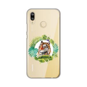 Maska Silikonska Print Skin za Huawei P20 lite Tropical Tiger