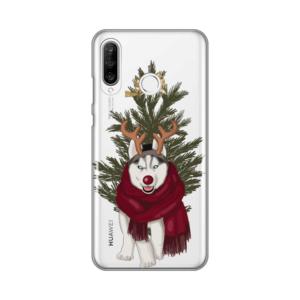 Maska Silikonska Print Skin za Huawei P30 Lite Christmas Time