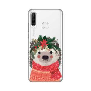 Maska Silikonska Print Skin za Huawei P30 Lite Winter Animal