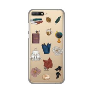 Maska Silikonska Print Skin za Huawei Y6 2018 Fall Fashion