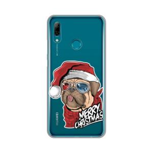Maska Silikonska Print Skin za Huawei Y6 2019/Honor 8A Christmas Pug