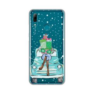 Maska Silikonska Print Skin za Huawei Y6 2019/Honor 8A Christmas Ride