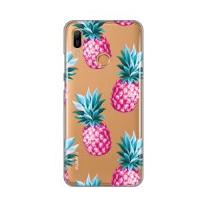 Maska Silikonska Print Skin za Huawei Y6 2019/Honor 8A Pink Pineapples