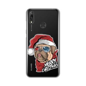 Maska Silikonska Print Skin za Huawei Y7 2019/Y7 Prime 2019 Christmas Pug