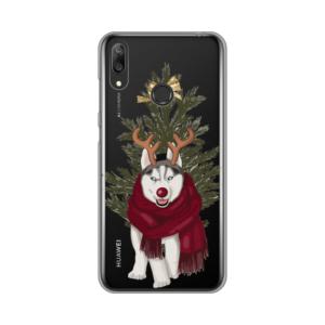 Maska Silikonska Print Skin za Huawei Y7 2019/Y7 Prime 2019 Christmas Time