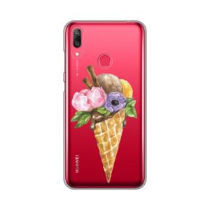 Maska Silikonska Print Skin za Huawei Y7 2019/Y7 Prime 2019 Pastel Ice Creams