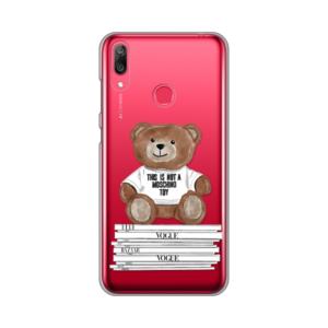 Maska Silikonska Print Skin za Huawei Y7 2019/Y7Prime 2019 Fashion Bear