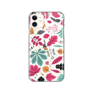 Maska Silikonska Print Skin za iPhone 11 6.1 Colorful Leaves
