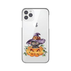 Maska Silikonska Print Skin za iPhone 11 Pro Max 6.5 Black Witch Cat
