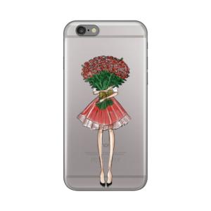 Maska Silikonska Print Skin Za Iphone 6/6S Valentine Girl