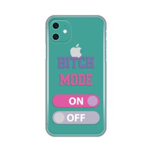 Maska Silikonska Print Skin za iPhone 11 6.1 Bitch Mode On
