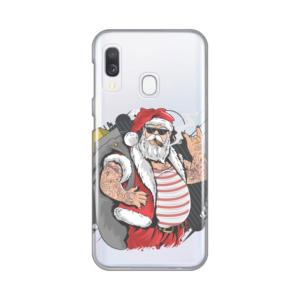 Maska Silikonska Print Skin za Samsung A202F Galaxy A20e Bad Santa