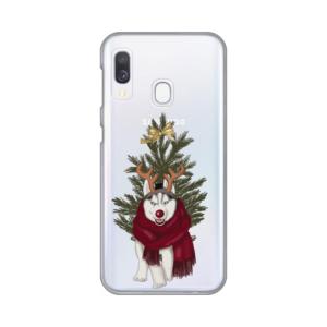 Maska Silikonska Print Skin za Samsung A202F Galaxy A20e Christmas Time