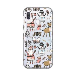 Maska Silikonska Print Skin za Samsung A202F Galaxy A20e Joy Pattern
