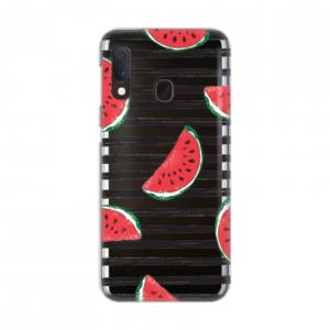 Maska Silikonska Print Skin za Samsung A202F Galaxy A20e Juicy Watermelon