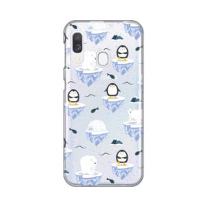 Maska Silikonska Print Skin za Samsung A202F Galaxy A20e Winter Magic