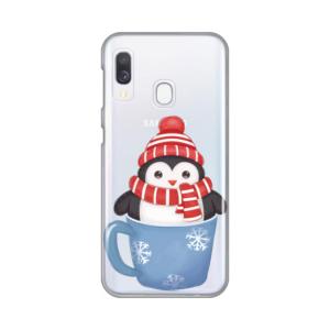 Maska Silikonska Print Skin za Samsung A202F Galaxy A20e Winter Pingu
