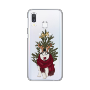 Maska Silikonska Print Skin za Samsung A405F Galaxy A40 Christmas Time