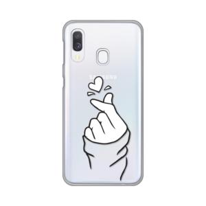 Maska Silikonska Print Skin za Samsung A405F Galaxy A40 Finger Of Love