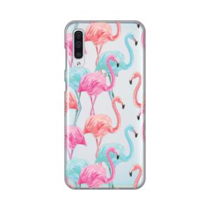 Maska Silikonska Print Skin za Samsung A505F Galaxy A50 Summer Flamingo