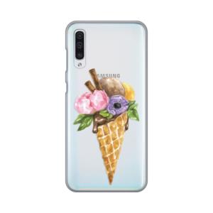Maska Silikonska Print Skin za Samsung A505F Galaxy A50 Watercolor Ice Cream