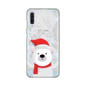 Maska Silikonska Print Skin za Samsung A505F Galaxy A50 Winter Hug