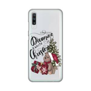 Maska Silikonska Print Skin za Samsung A705F Galaxy A70 White Christmas