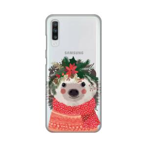 Maska Silikonska Print Skin za Samsung A705F Galaxy A70 Winter Animal