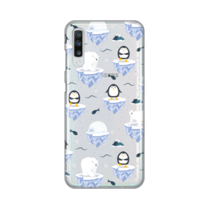 Maska Silikonska Print Skin za Samsung A705F Galaxy A70 Winter Magic