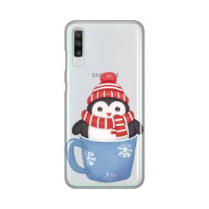 Maska Silikonska Print Skin za Samsung A705F Galaxy A70 Winter Pingu