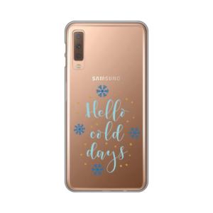 Maska Silikonska Print Skin za Samsung A750F Galaxy A7 2018 Hello Cold Days