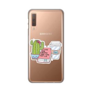 Maska Silikonska Print Skin za Samsung A750F Galaxy A7 2018 I Like Big Books
