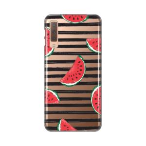 Maska Silikonska Print Skin za Samsung A750FN Galaxy A7 2018 Juicy Watermelon