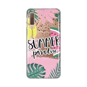 Maska Silikonska Print Skin za Samsung A750FN Galaxy A7 2018 Summer Paradise