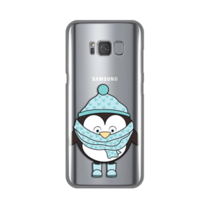 Maska Silikonska Print Skin za Samsung G950 S8 Minty Penguin