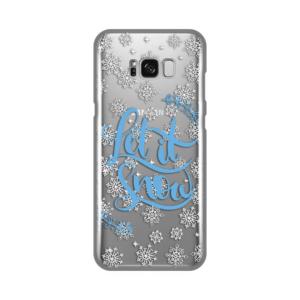 Maska Silikonska Print Skin za Samsung G955 S8 Plus Let It Snow