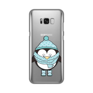 Maska Silikonska Print Skin za Samsung G955 S8 Plus Minty Penguin