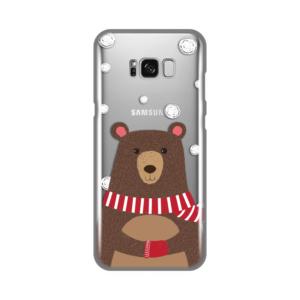 Maska Silikonska Print Skin za Samsung G955 S8 Plus Winter Bear