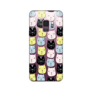 Maska Silikonska Print Skin Za Samsung G960 S9 Cats