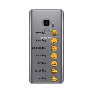 Maska Silikonska Print Skin Za Samsung G960 S9 Emoji Mood