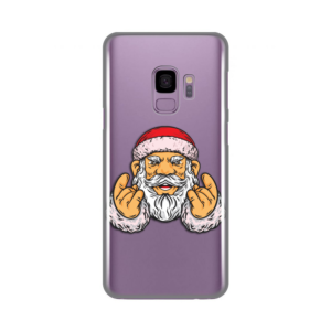 Maska Silikonska Print Skin za Samsung G960 S9 Rock And Roll Santa