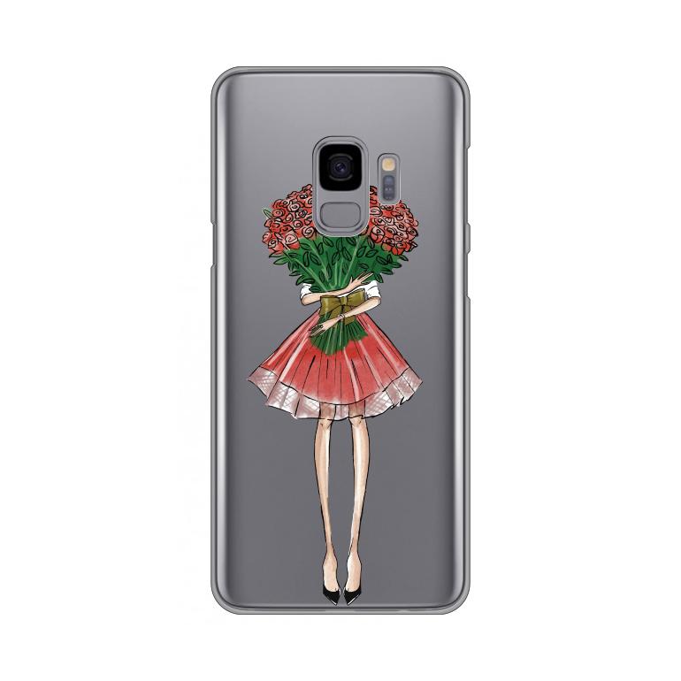 Maska Silikonska Print Skin Za Samsung G960 S9 Valentine Girl