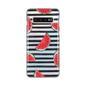 Maska Silikonska Print Skin za Samsung G970 S10 Juicy Watermelon