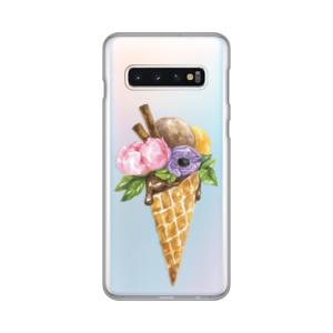 Maska Silikonska Print Skin za Samsung G970 S10 Watercolor Ice Cream