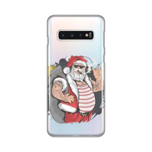 Maska Silikonska Print Skin za Samsung G973 S10 Bad Santa