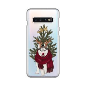 Maska Silikonska Print Skin za Samsung G973 S10 Christmas Time